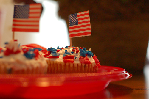 4th of July Cupcakes - elvissa