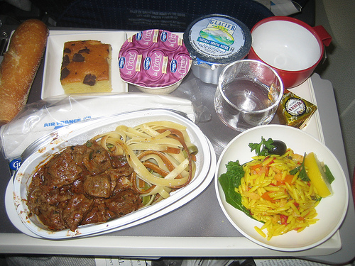 Airplane Food - Mr. Mystery