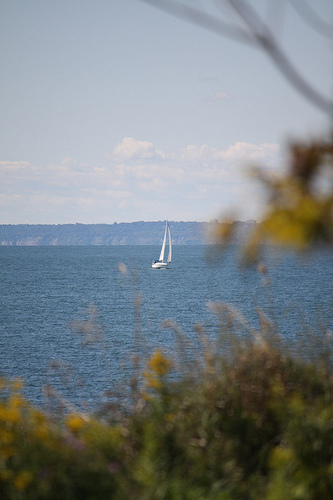 Sail Boat from a Distance - SeRVe61