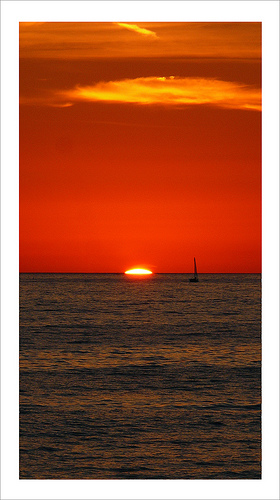 Sailing to the Sunset - Sabrina Campagna