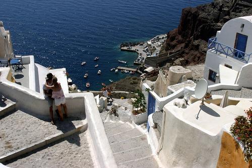 Santorini, Greece - Savannah Grandfather