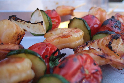 Shrimp Kebabs - Noonch