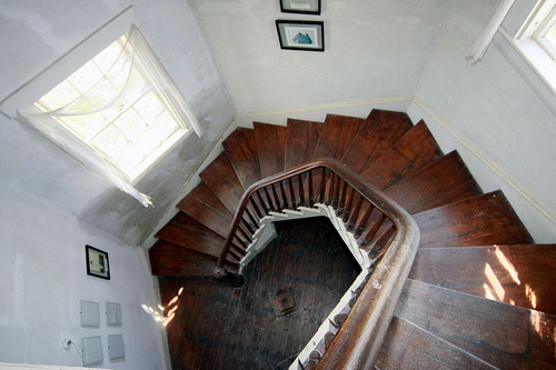 Stairs in a Lighhouse - Savannah Grandfather