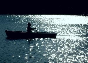 A midnight row - tanakawho