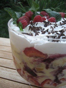 Trifle - foodistablog