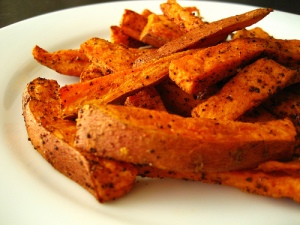 Sweet Potato Fries - not a hipster