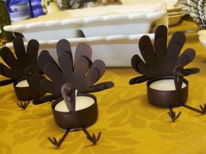 Turkey Votives - Joe Shlabotnik