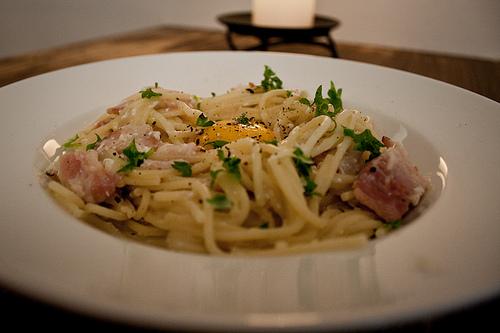 Spaghetti carbonera recipe